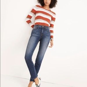 Madewell Jeans - Madewell Slim Straight Jeans in Hammond Wash